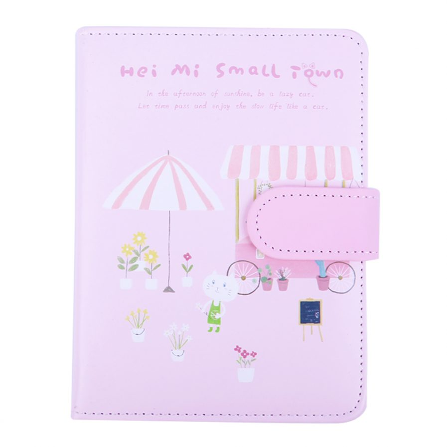 Notebook With Clasp 5