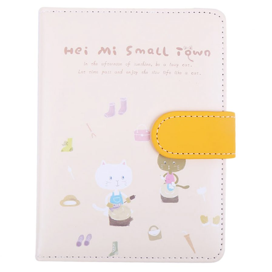 Notebook With Clasp 7